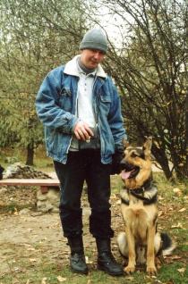 Павел Ижболдин - кинолог, дрессировщик собак